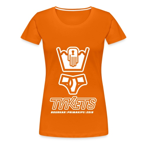 Tycout Tykets Primakips 2018 F - T-shirt Premium Femme