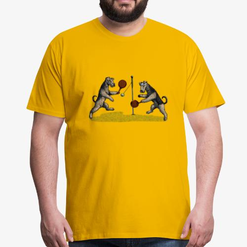 Airedale Swingball - Men's Premium T-Shirt