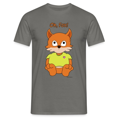 Oh, Fox! Men's T-shirt - Men's T-Shirt