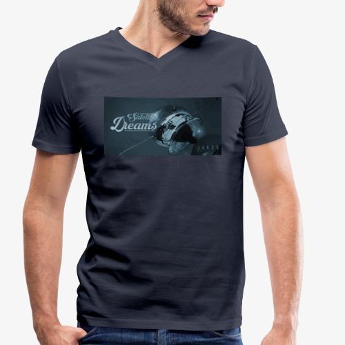 JAKES SATELITE DREAMS - Økologisk Stanley & Stella T-shirt med V-udskæring til herrer