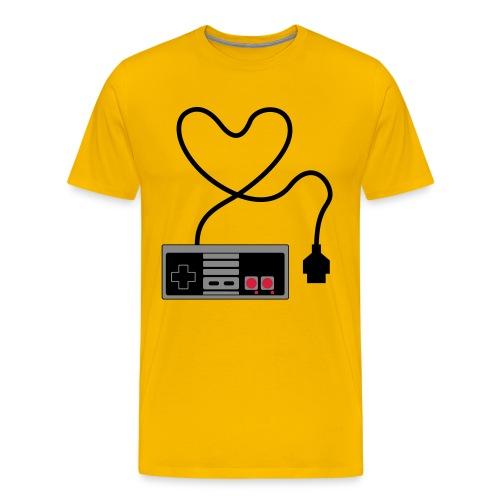 NES love - Men's Premium T-Shirt