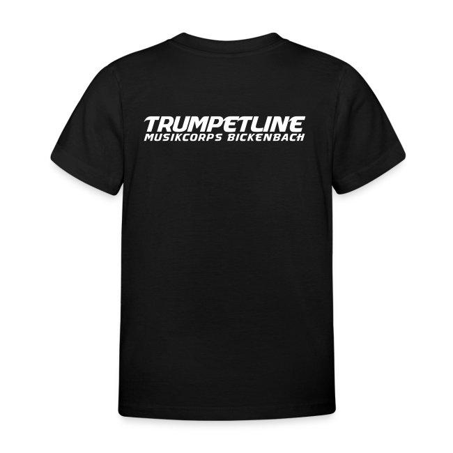 Normales Kinder-T-Shirt Trumpet-Line