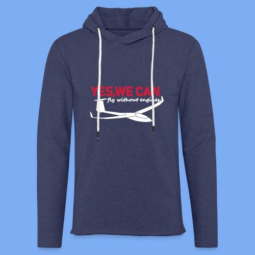 Lustiger Segelflieger Spruch gleiten Geschenk Segelflug Segelfliegen T-Shirt Bekleidung Shop Flieschen Hoodie Polohemd Taschen Pullover - Light Unisex Sweatshirt Hoodie
