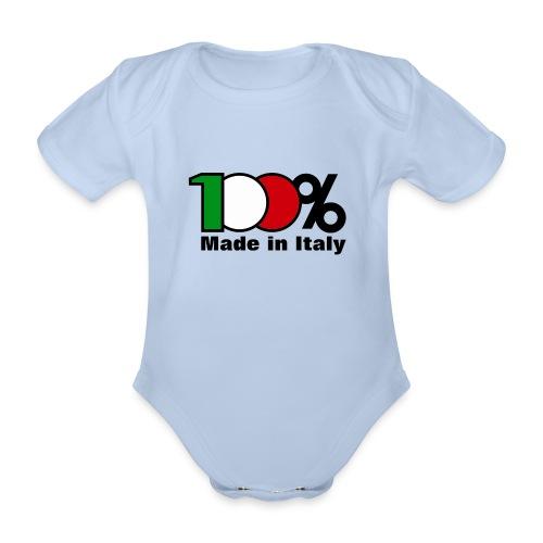 BODY BEBE 100% ITALIA - Body bébé bio manches courtes