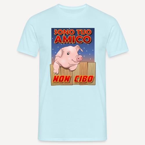 Amico Non cibo - Maglietta da uomo