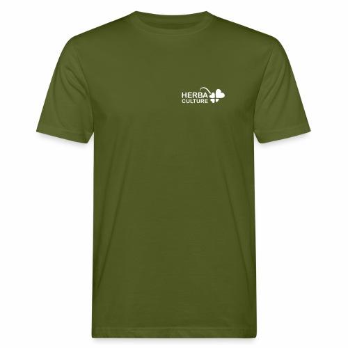 herba Organic Herbacultura Arm wording - Men's Organic T-Shirt