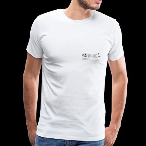 hybrid0001 premium - Maglietta Premium da uomo