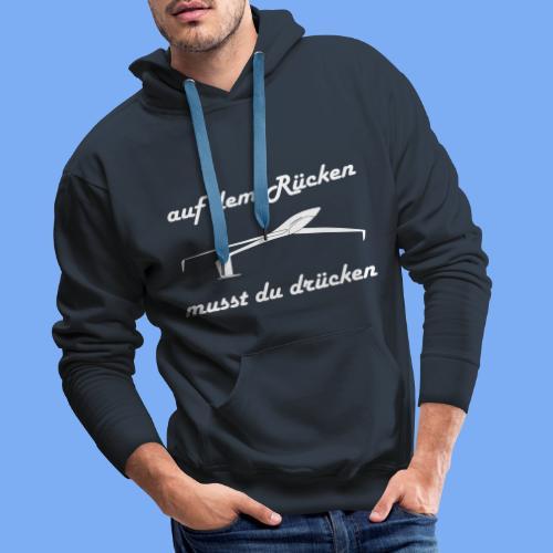 Modellflieger Segelflieger Geschenk Kunstflug Hoodie - Men's Premium Hoodie