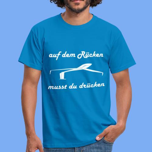 Modellflieger Segelflieger Geschenk Kunstflug - Men's T-Shirt