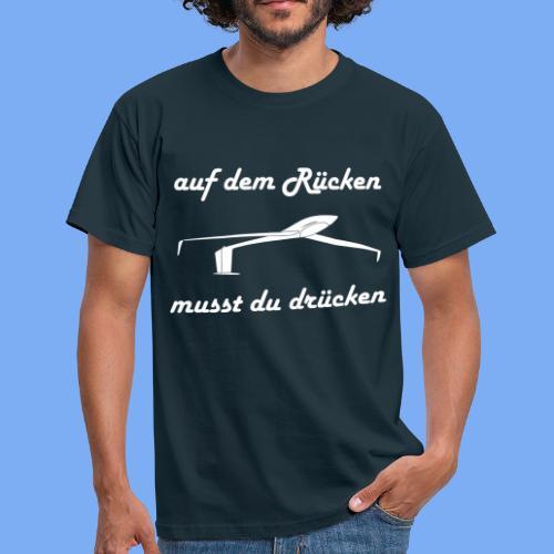 Modellflieger Segelflieger Geschenk Kunstflug T-Shirt - Men's T-Shirt