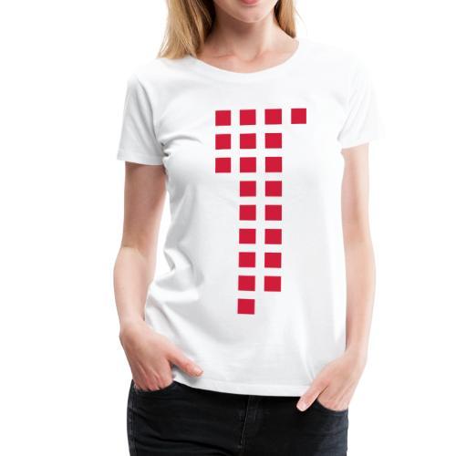 1893 Squares Jasi-Style / Girls - Frauen Premium T-Shirt