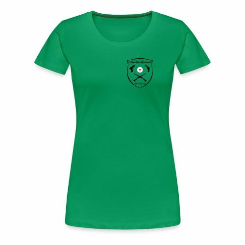 Damen Premium Shirt Logo dunkel - Frauen Premium T-Shirt