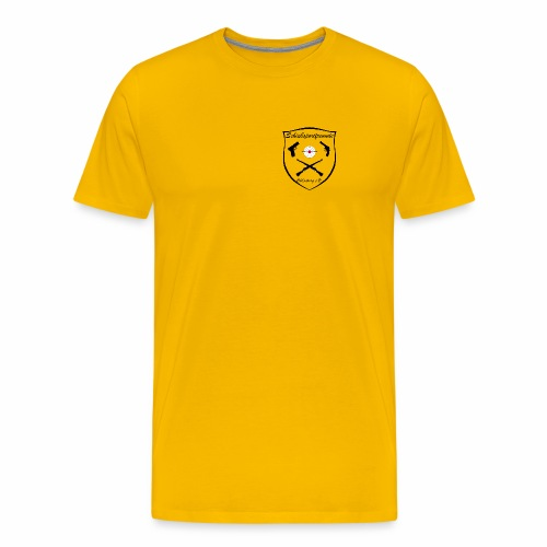 Herren Premium Shirt Logo Dunkel - Männer Premium T-Shirt