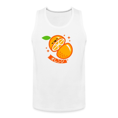 Orange - Men's Premium Tank Top
