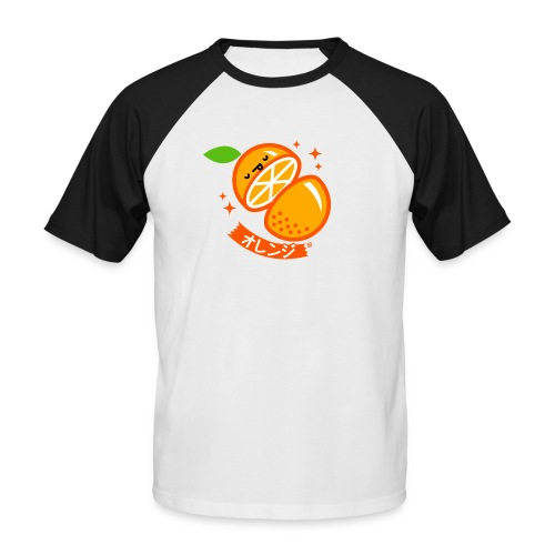 Orange - Men's Baseball T-Shirt