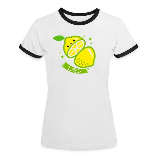 Lemon - Women's Ringer T-Shirt