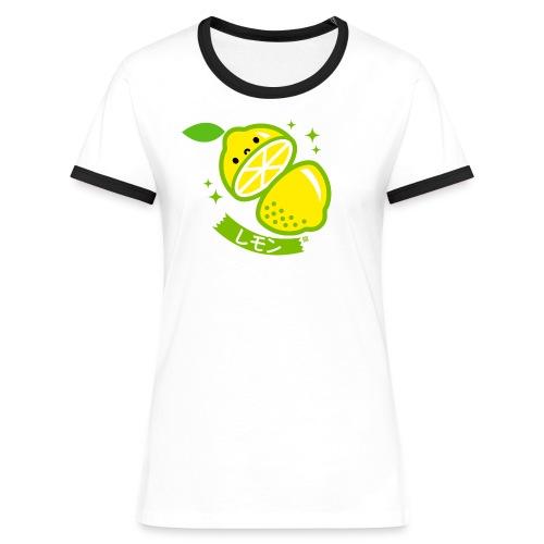 Lemon - Women's Ringer T-Shirt
