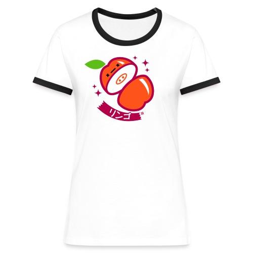 Apple - Women's Ringer T-Shirt