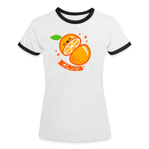 Orange - Women's Ringer T-Shirt