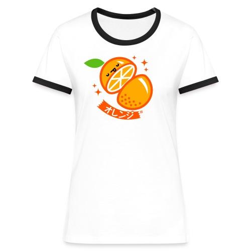Orange - Women's Ringer T-Shirt