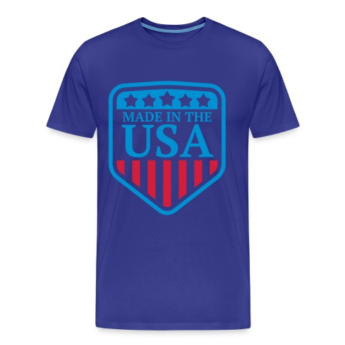 MADE IN THE USA T SHIRT - Men's Premium T-Shirt
