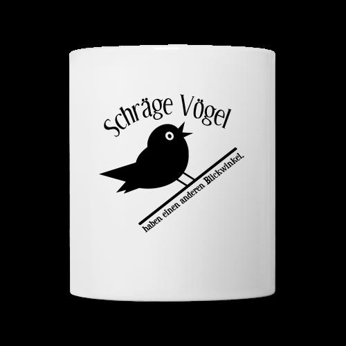 Nerd Geek Freak Spruch Schräger Vogel Tasse - Tasse