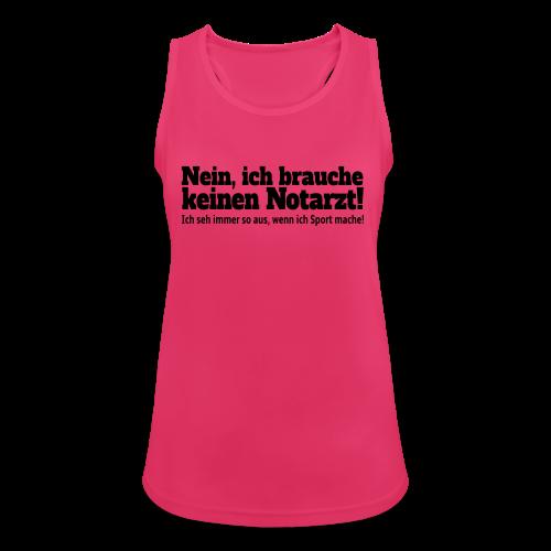 Sport Spruch Tank Top - Frauen Tank Top atmungsaktiv