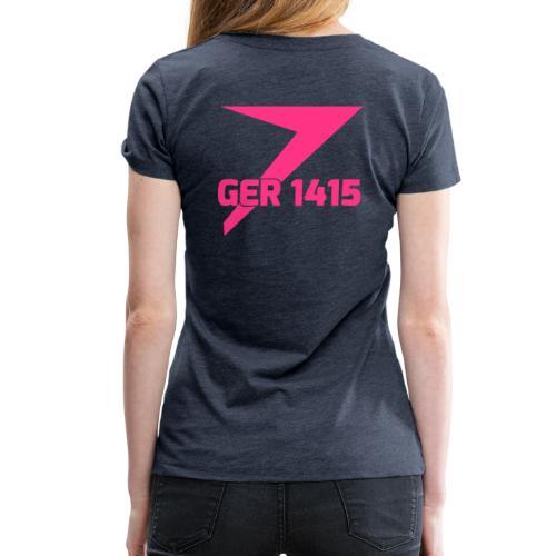 Crew-Shirt =AD=REM= Heatherblue/Männer - Frauen Premium T-Shirt