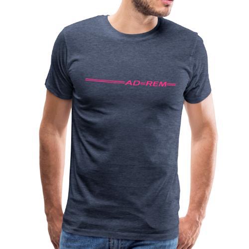 Crew-Shirt =AD=REM= Heatherblue/Männer - Männer Premium T-Shirt