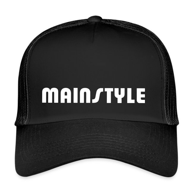 MAINSTYLE Trucker Cap black
