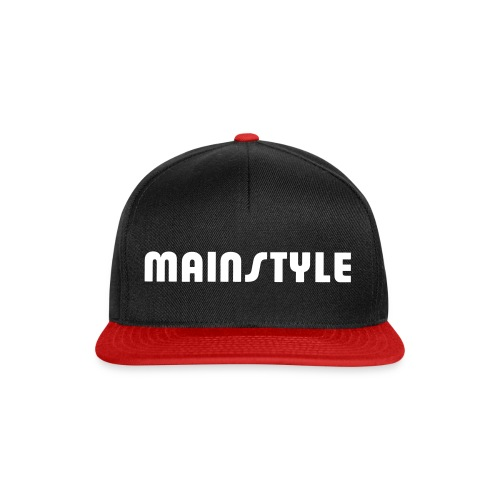 MAINSTYLE Trucker Cap black - Snapback Cap
