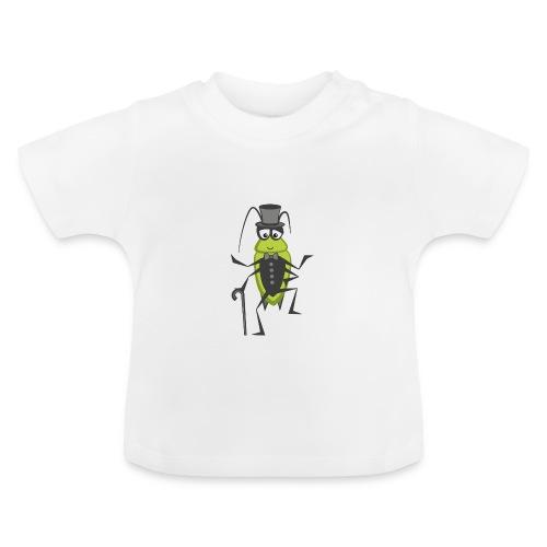 Wanze (Frack & Zylinder) / Auf der Mauer, auf der Lauer / Sing Kinderlieder - Baby T-Shirt