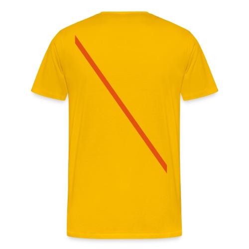 Diagonale-01 - Men's Premium T-Shirt