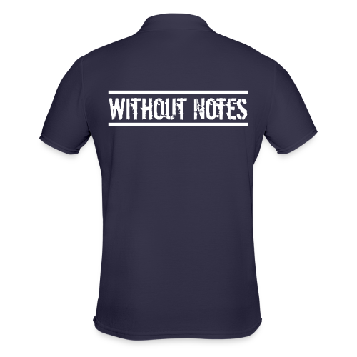 Without Notes Polo - Männer Poloshirt