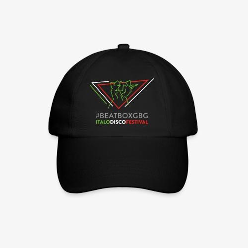 Baseball cap: #BEATBOXGBG [black, 3 col logo] - Basebollkeps