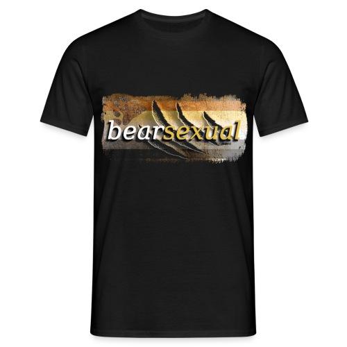 bearsexual - Männer T-Shirt