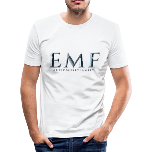 Men T-Shirt Slim Fit - EMF - Men's Slim Fit T-Shirt