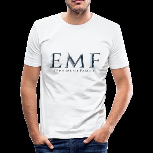 Men T-Shirt Slim Fit - EMF - Men's Slim Fit T-Shirt