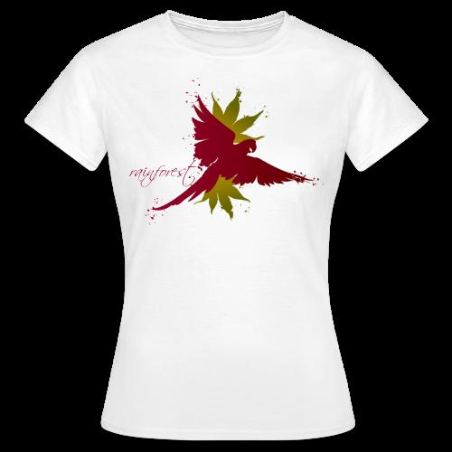 Rainforest weinrot - Frauen T-Shirt