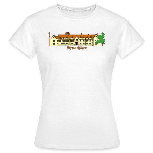 Ufton Court (Ladies Budget Front & Back) - Women's T-Shirt
