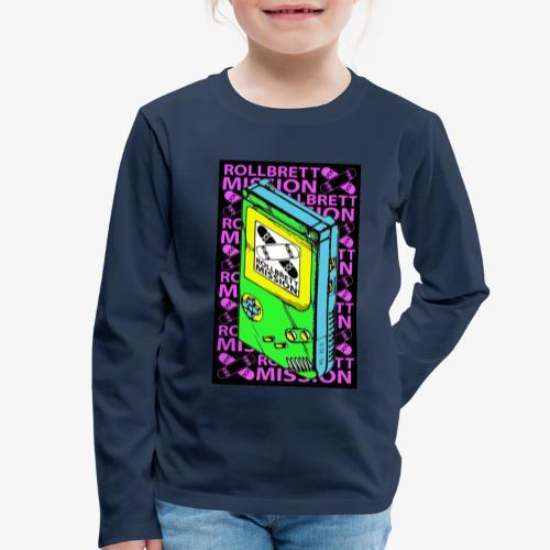 Kids Spieljunge Longsleeve - Kinder Premium Langarmshirt