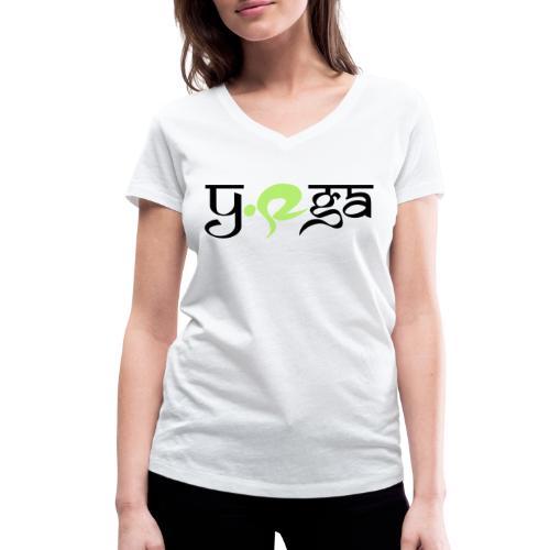 sun warriors - Women's Organic V-Neck T-Shirt by Stanley & Stella