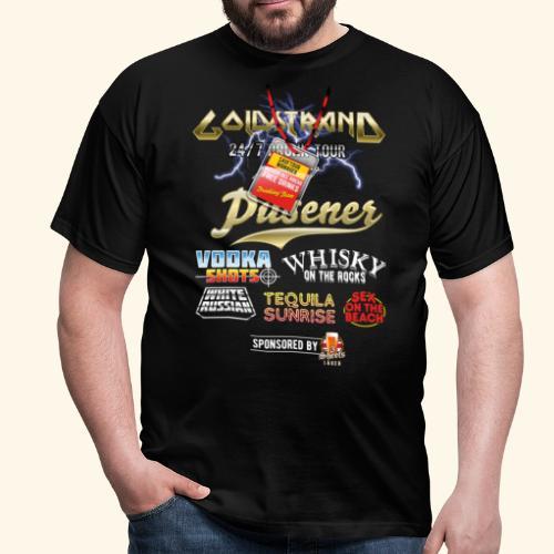 Goldstrand T-Shirt Sauftour Manager - Männer T-Shirt