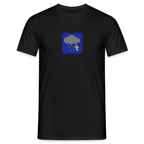 Gewitter - Männer T-Shirt