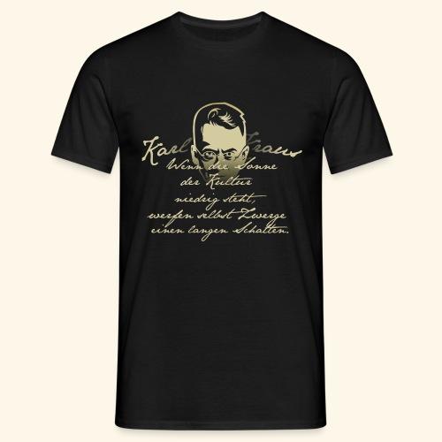 Zitat T-Shirt  - Männer T-Shirt