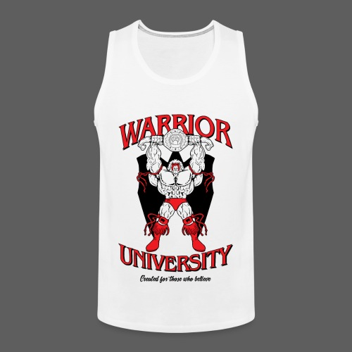 Ultimate Warrior Warrior University Tank Top - Men's Premium Tank Top
