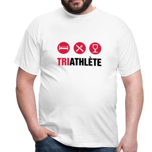 Triathlete - Männer T-Shirt