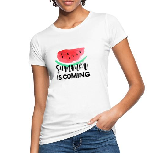 Sommer is coming! - Frauen Bio-T-Shirt