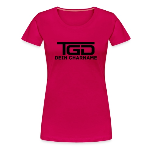 TGD Plain (Lady) - Frauen Premium T-Shirt