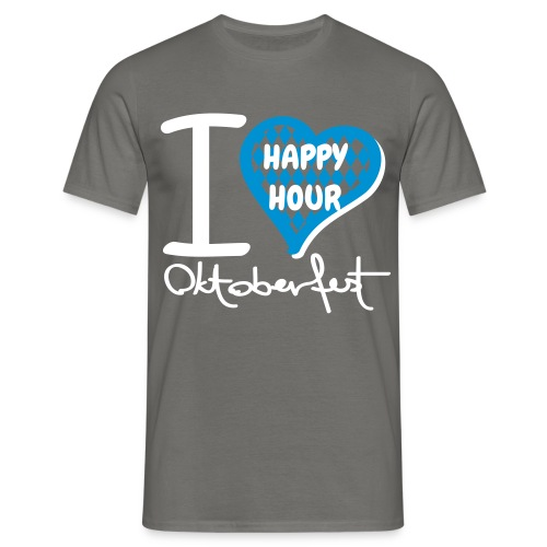 HAPPY HOUR OKTOBERFEST 2018 Tour Shirt / Herren - Männer T-Shirt